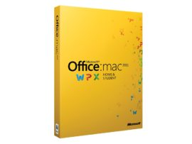 Microsoft Office Mac Home & Student 2011